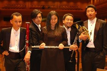 """""""广州木管五重奏""""是广州首支具有国际化背景的"""