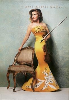 倾倒众生的小提琴天后――穆特 星海音乐厅